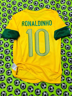 Jersey Camiseta Nike Seleccion Brasil 2012 2013 Ronaldinho