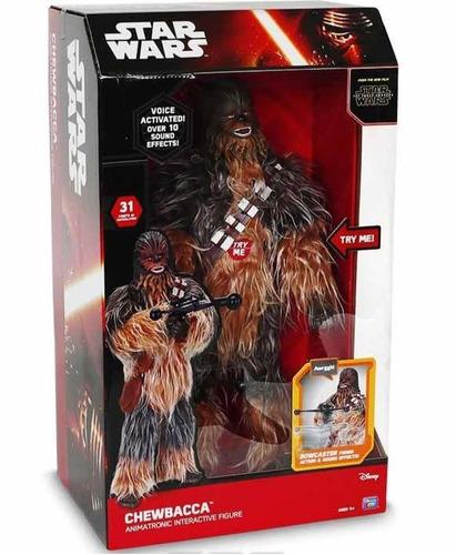 Star Wars Chewbacca  Juguete Animatronico Interactivo 1