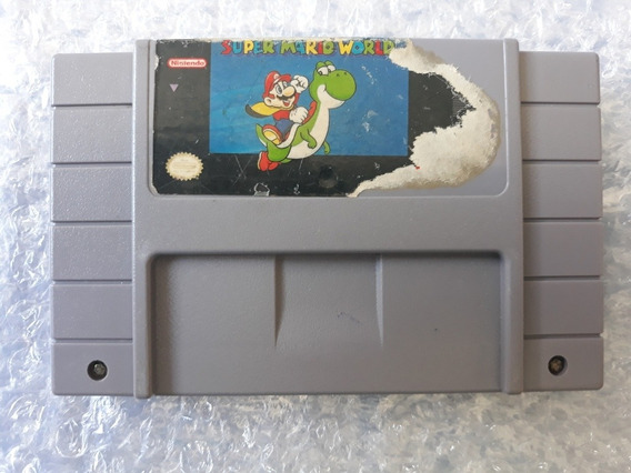 Super Mario World Original Super Nintendo Snes