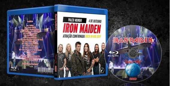 Blu-ray Iron Maiden - Rock In Rio (2019)