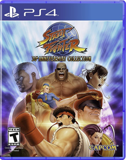 Street Fighter 30th Anniversario Ps4 Nuevo (en D3 Gamers)