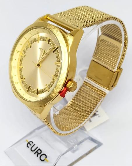 Relógio Euro Feminino Eu2036ypv/4 Dourado