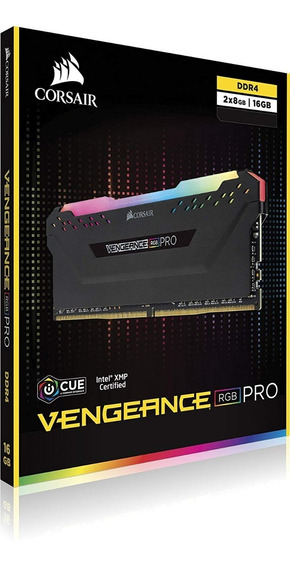 Memoria Ram Corsair Vengeance Rgb Pro 2x8gb 16gb 3200mhz