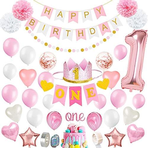 Decoraciones De 1er Cumpleaños Para Niña