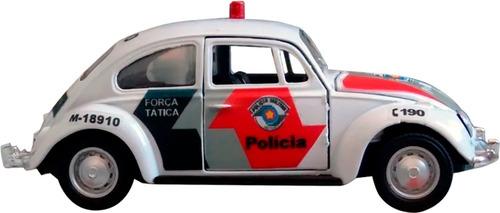 Imagem 1 de 8 de Miniatura Fusca Pmesp Polícia Militar Sp