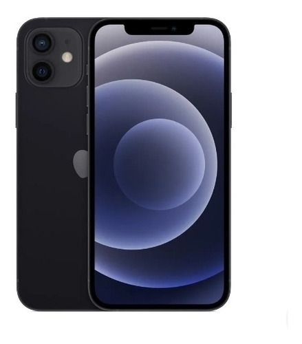 Imagem 1 de 5 de Apple iPhone 12 (64 Gb) - Preto
