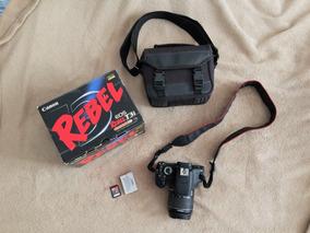 Câmera Canon T3i + Lente 18-55 Mm+ Sd 32gb+ Bolsa (usada)