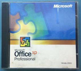 Microsoft Office Xp Professional - Mídia Física