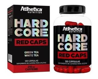 Termogênico Emagrecedor - Hard Core Red - Atlhética 120 Caps