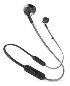 Fone De Ouvido Bluetooth Jbl Tune 205bt Preto Sem Fio