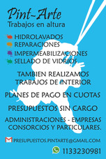 Impermeabilizaciones En Altura-ley 257-hidrolavado- A Cuotas