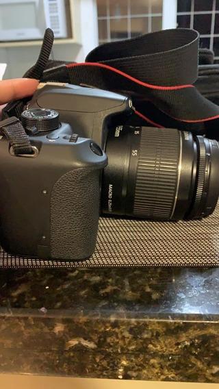 Canon T5 + Lente 18-55mm + Cartão 32gb