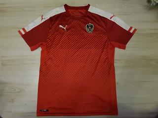 Rara Camisa Da Seleção Austríaca De Futebol Puma Áustria