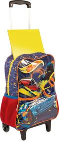 Mochila De Rodinha Infaltil Hot Wheels Sestini G 065234-00