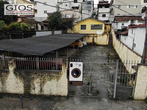 Imagem 1 de 1 de Terreno Para Alugar, 400 M² Por R$ 4.000,00/mês - Jardim Peri - São Paulo/sp - Te0035