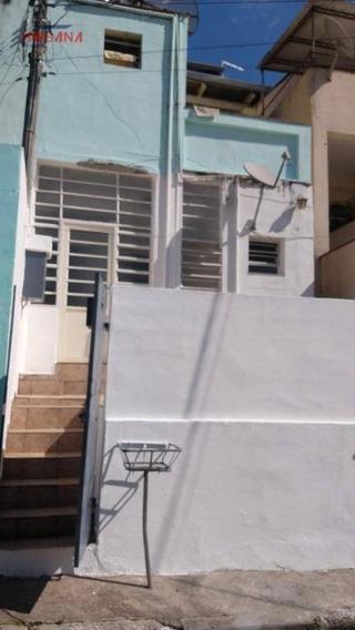 Casa Com 1 Dormitório Para Alugar, 45 M² Por R$ 750,00/mês - Região Central - Caieiras/sp - Ca0699