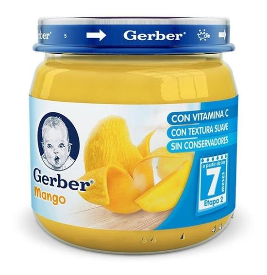 Gerber Etapa 2 Papilla Sabor Mango Frasco 113 Gr