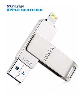 Idiskk Usb 3.0 128gb iPhone Lightning Flash