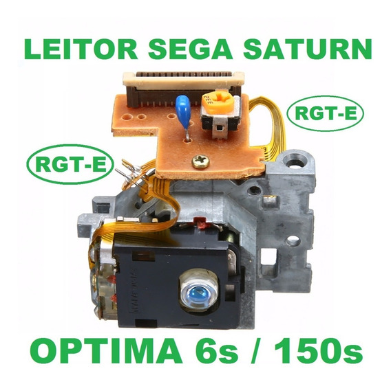 Leitor Sega Saturn Optima 6s E Optima 150s Lente Óptica