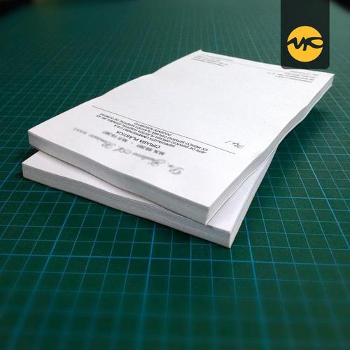 Imagen 1 de 2 de Recetarios 4 Blocks X 100 C/u