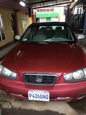 Hyundai Elantra Gls Rojo, Motor 2.0l, 4 Cilindros
