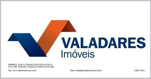 Imagem 1 de 1 de Terreno Residencial Para Venda Em Palmas, Plano Diretor Sul - 1085_2-607573