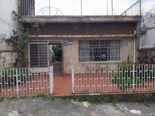 Casa Com Terreno De 200m² Para Demolir No Tatuapé - 347