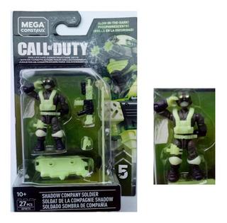 Megaconstrux Call Of Duty Soldado Sombra Company Serie 5