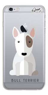 Capa Capinha P/ Apple iPhone 6s - Bull Terrier