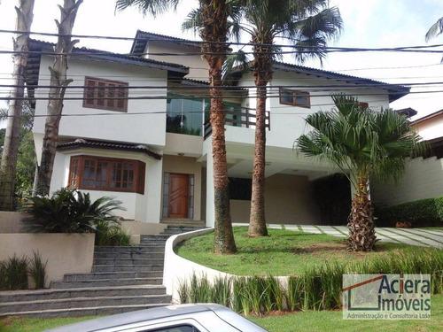 Granja Viana Ii- Casa De Alto Padrão Em Condomínio Fechado! - Ca0713