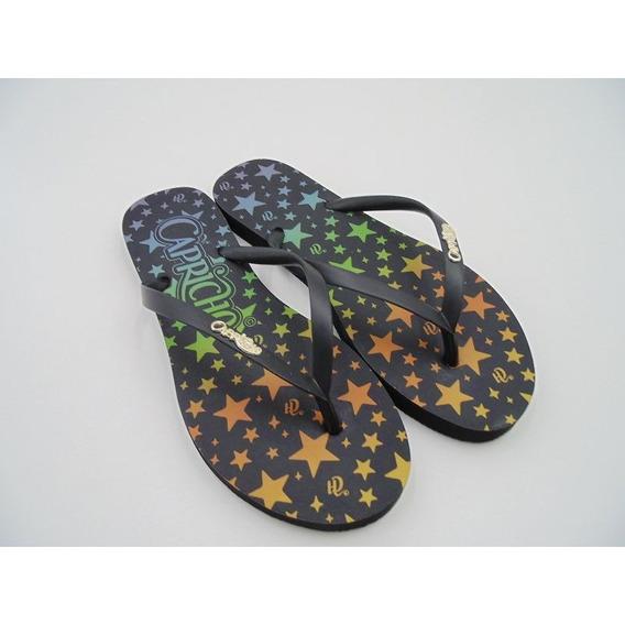 Chinelo Capricho Shoes Ceu De Estrelas Cp3118