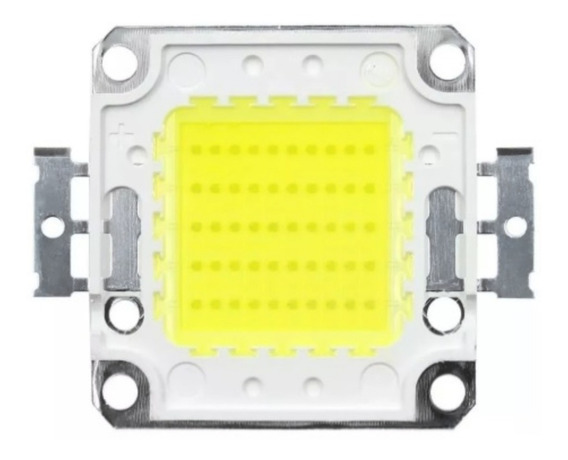 10 Chip Led Reposição Refletor 50w 100w 150w 200w Luz 6500k