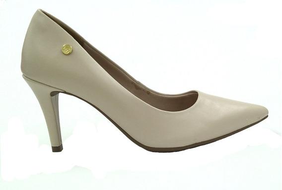 Sapato Scarpin Via Marte Napa Marfim 2901