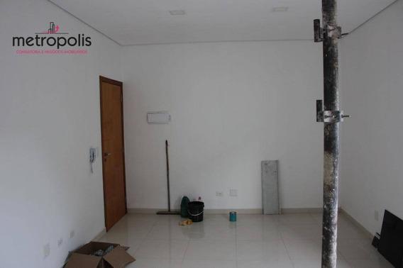Sala Para Alugar, 77 M² Por R$ 3.550,00/mês - Nova Gerty - São Caetano Do Sul/sp - Sa0128