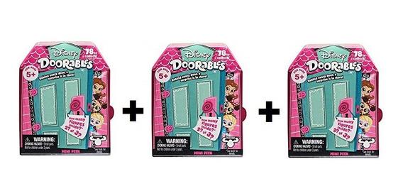Disney Doorables 3 Mini Kit Surpresa Dtc Original