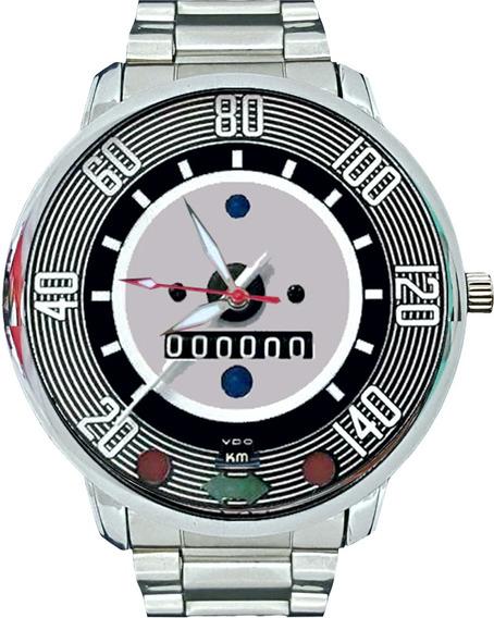Fuscão 1500 Relógio Pulso Velocímetro Volkswagen 140 Km N