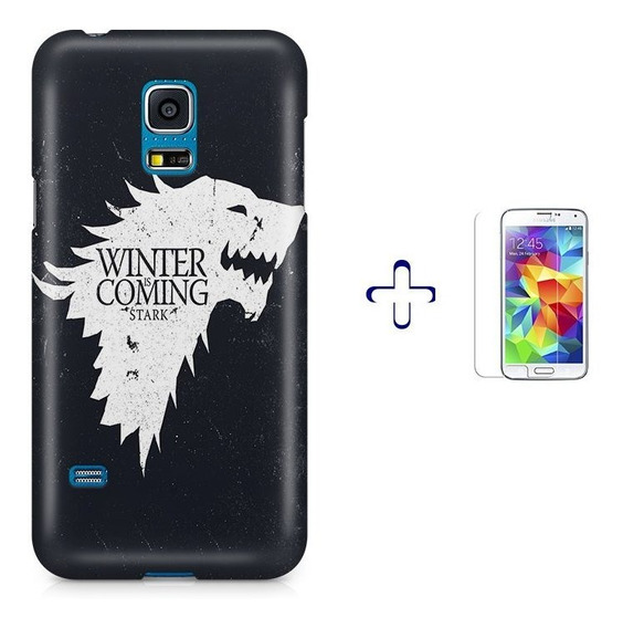 Kit Capa S5 Mini Game Of Thrones +pel.vidrbd1