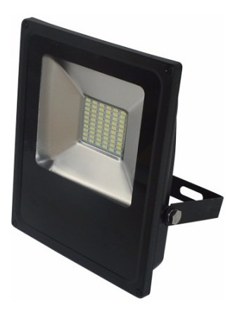Kit 2 Refletor Led Slim 100w Alumínio Blumenau Iluminação
