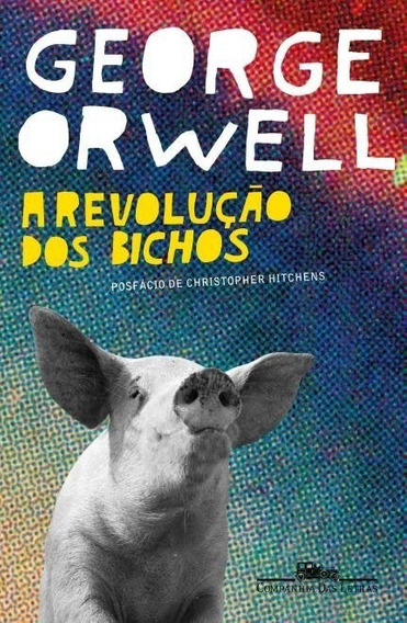 A Revolução Dos Bichos Livro George Orwell Frete 9 Reais