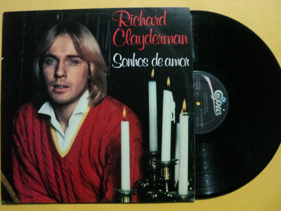 Lp Richard Clayderman- Sonhos De Amor- 1980 Novo Frete 15,00
