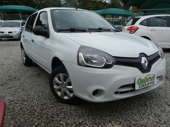 Renault - Clio Hatch Authentique 1.0 16v 4p 2014