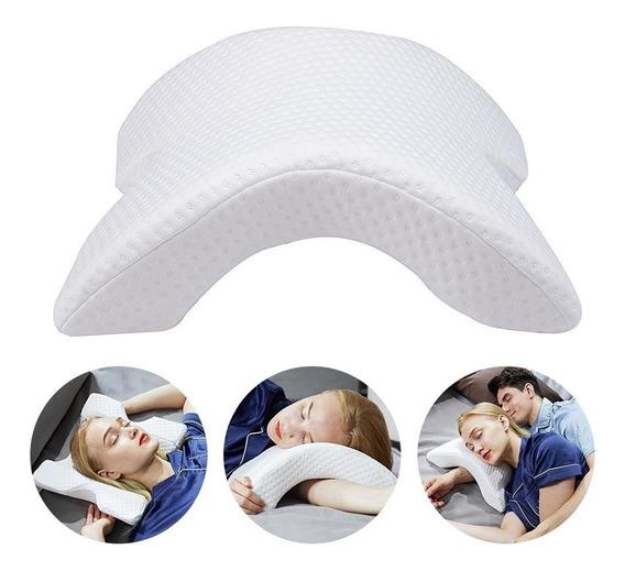 Travesseiro Conchinha Ortopédico Conforto Cervical P/ Dormir