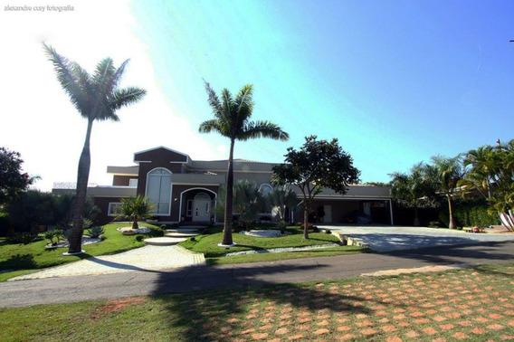 Casa De Condomínio À Venda, 5 Quartos, 12 Vagas, Condomínio Moradas São Luiz - Salto/sp - 7573