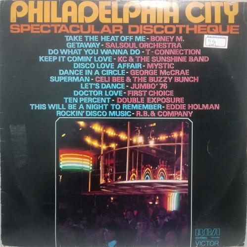 Lp Vários - Philadelphia City Spectacular Discotheque