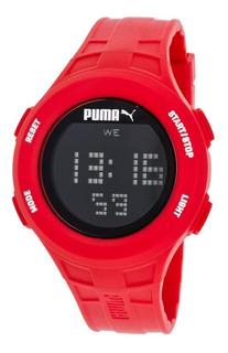 Reloj Puma Pu911301003 Digital Rojo Garantía Oferta 20% Off