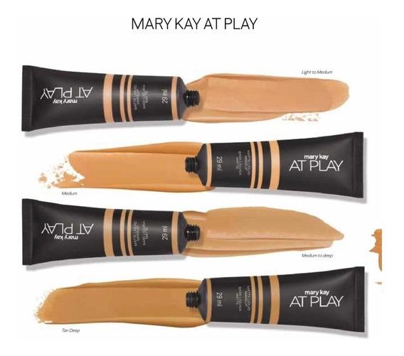 Set Base De Maquillaje Y Corrector De Ojeras Mary Kay