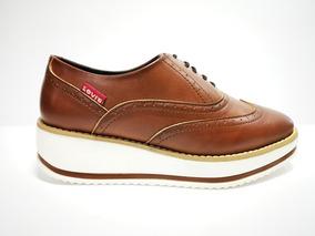 Zapato Levis Dama L128451 Caoba