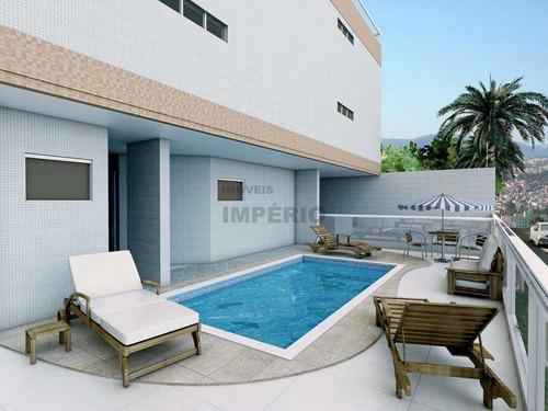 Apartamento Com 2 Dorms, Caiçara, Praia Grande - R$ 375 Mil, Cod: 3825 - V3825