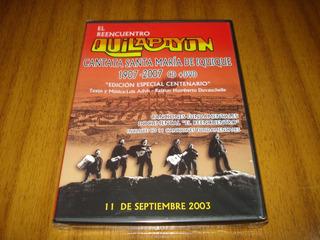 Cd+dvd Quilapayun / Cantata Santa Maria...(nuevo Y Sellado)