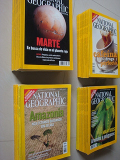 Revistas De Coleccion National Geographic En Español